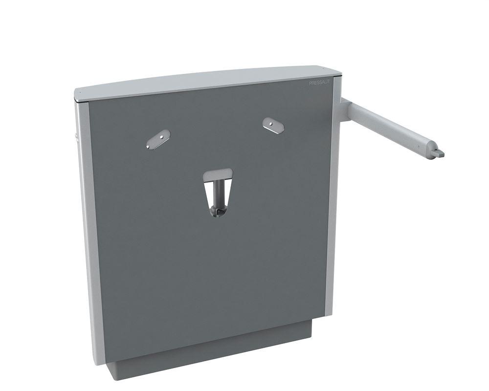 SELECT vaskophæng, gulvstående med vægmontering, elektrisk højderegulérbart med betjeningsgreb