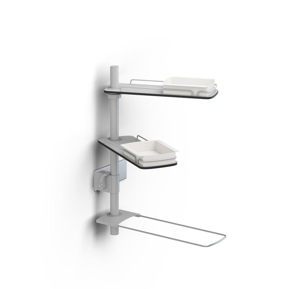 Modular shelves for PLUS wash basin bracket, 600 mm rod
