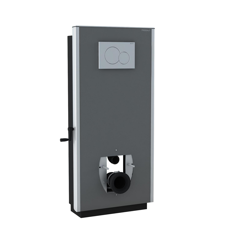 SELECT toiletløfter, manuel højderegulérbar med håndsving, til gulvafløb